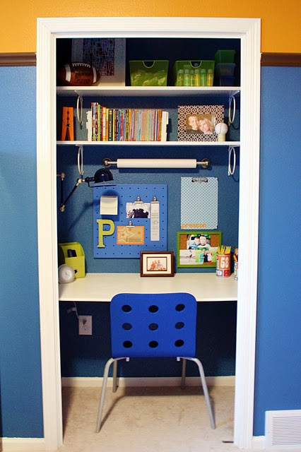 Study desks small bedrooms - Desks for small spaces for kids gallery ...